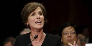 Sally Yates, la fiscal que desafió a Trump