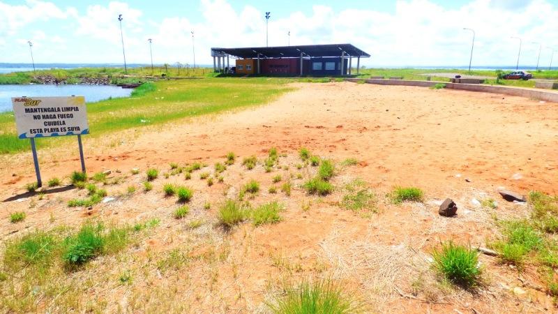Desde el mes de junio, Garupá reclama a la EBY la finalización de las obras en la zona de la playa de Fátima