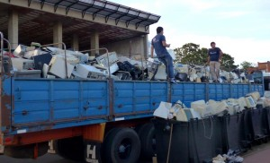 Argentina es el tercer país de la región, detrás de Brasil y México, en generar desechos electrónicos