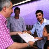 Passalacqua inauguró obras en Oberá y destacó la unidad como conducta fundamental para salir adelante