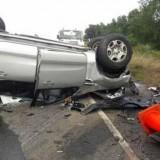 Conductores ebrios protagonizaron sendos accidentes en Garupá: hubo destrozos pero no heridos