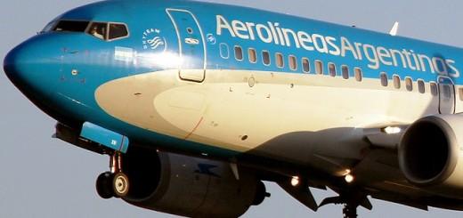 Aerolíneas cancelará vuelo que unía Iguazú con El Calafate en temporada baja