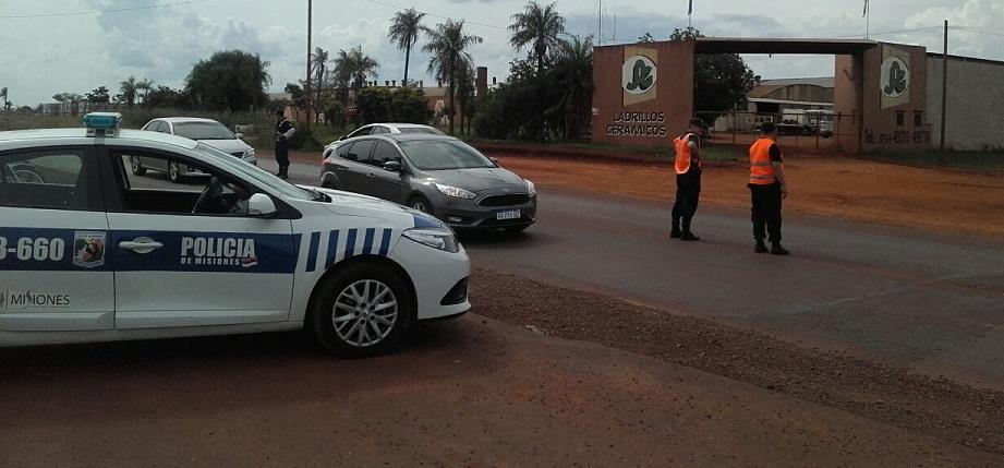 Gran despliegue policial por recambio turístico y en la continuidad de actividades dispuestas en cada fin de semana
