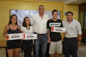 Eldorado: Entregaron subsidios a deportistas de alto rendimiento