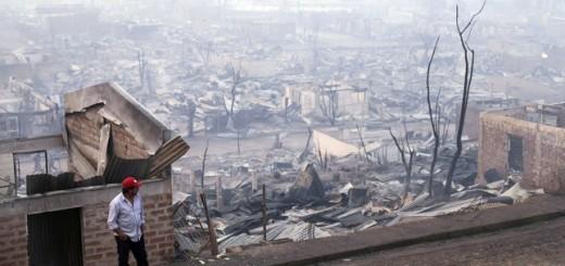 Incendios ya afectaron unas 388 mil hectáreas en Chile