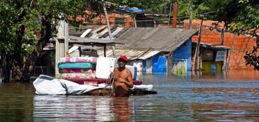 Continúa la asistencia a los damnificados por las inundaciones en el Norte y Centro del país