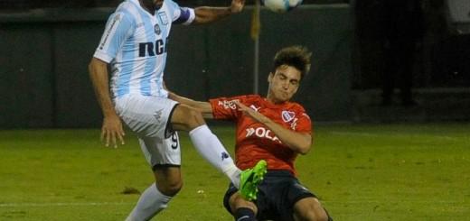 Tres gritos de Racing en el primer clásico del año ante Independiente