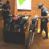 Desarticulan una supuesta banda  de robamotos en Campo Viera