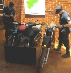 Iguazú: Recuperaron motos que fueron robadas y vendidas en distintos barrios