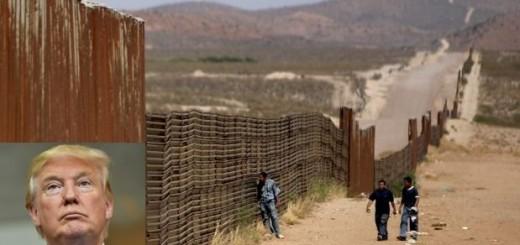 Trump anunciará hoy la construcción del muro con México