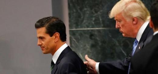 Duro cruce telefónico entre Trump y Peña Nieto por la construcción del muro