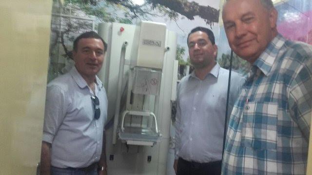 Nuevo servicio de mamografía para el Hospital de Bernardo de Irigoyen