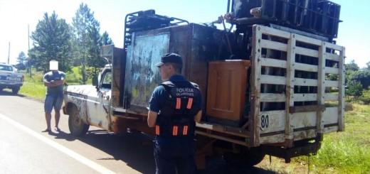 Salto Encantado: secuestran dos vehículos en operativos viales