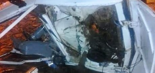 Capioví: un choque entre un camión y un auto en ruta 12 dejó varios heridos, entre ellos una beba de 8 meses
