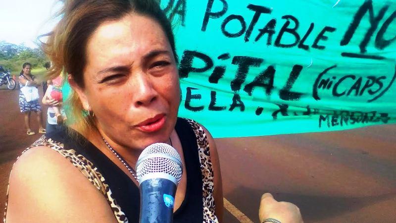Vecinos de Itaembé Guazú cortaron la ruta por el mal estado del agua potable