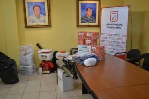 Salud Pública fortalece el área de vectores de Eldorado con entrega de equipamiento e indumentaria