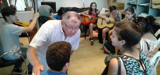 Más de 70 personas aprenden canto y música en el Paseo La Terminal