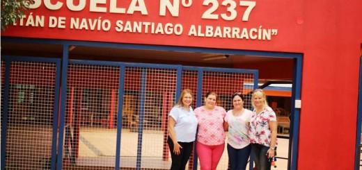 La Ministra de Educación recorrió las nuevas instalaciones de la Escuela 237 de Oberá