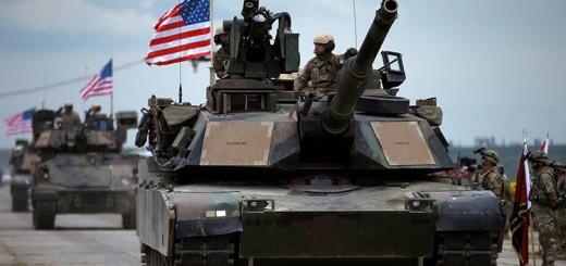 Estados Unidos despliega tanques junto a la frontera rusa