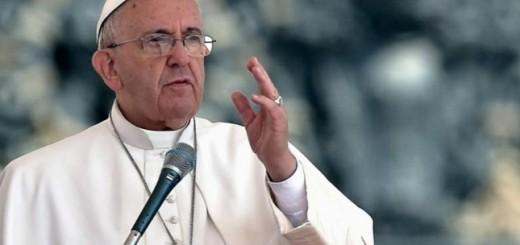 """""""Las ofensas e injurias revelan la misma maldad que el asesinato"""", dijo el Papa"""