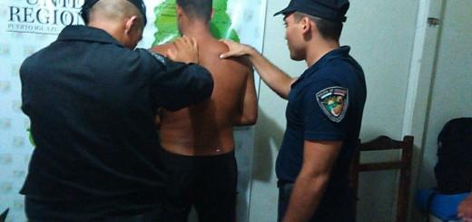 Desbaratan una banda de asaltantes liderada por un brasileño en Andresito