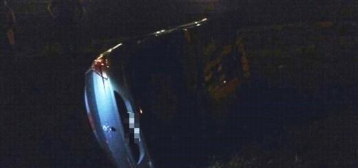 Conductor alcoholizado despistó tras intentar evadir un control policial