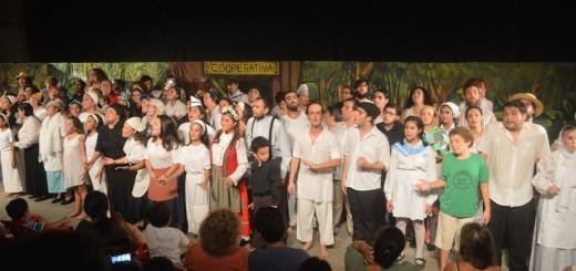 Concurrencia masiva y espectáculos de lujo dieron apertura al Encuentro Provincial de Teatro