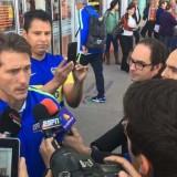 """Gallardo: """"tenemos esperanzas de que Alario y Maidana lleguen"""""""