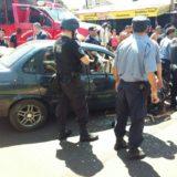 Video: Así atacaron los vecinos al conductor ebrio que atropelló a un chico en Posadas
