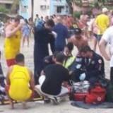 Un juego mecánico se desprendió y 13 chicos resultaron heridos