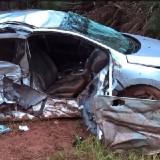 Automovilista se encuentra en grave estado tras un despiste en Posadas