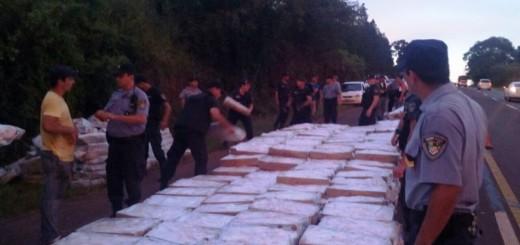 No eran bananas, eran pollos: camión brasileño ingresó con 772 cajas de muslos a Eldorado