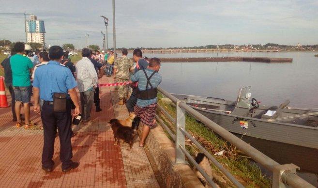 Hallaron el cadáver de un hombre en el río Paraná