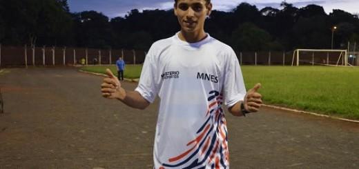 La constancia y el sacrificio de un atleta obereño lo llevan a competir a Chile