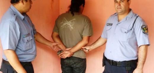 Atraparon al hombre que había apuñalado a su mujer en Nemesio Parma