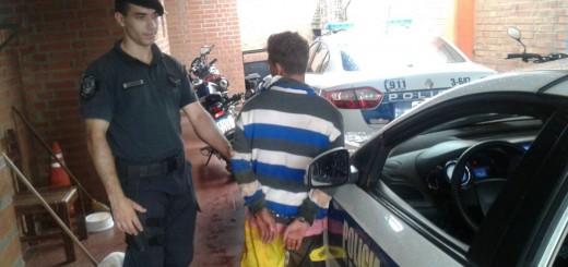 Un violento, dos motociclistas ebrios y un ladrón fueron arrestados en distintos operativos