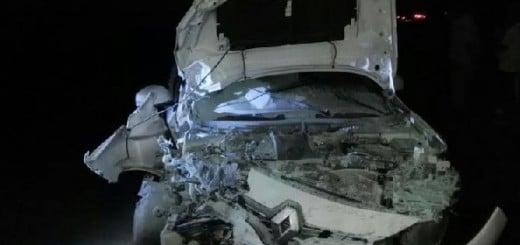 Heridos al chocar dos autos en el cruce de las rutas 103 y 4