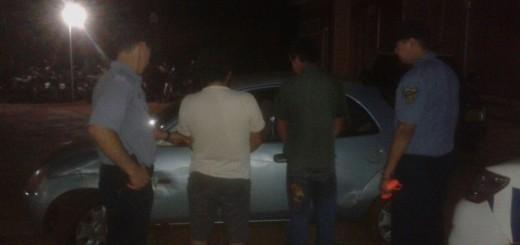 Detienen a los dos ocupantes de un auto que a excesiva velocidad ponía en riesgo a todos en Campo Grande
