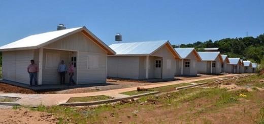 Se entregan viviendas del IPRODHA en Campo Grande y San José