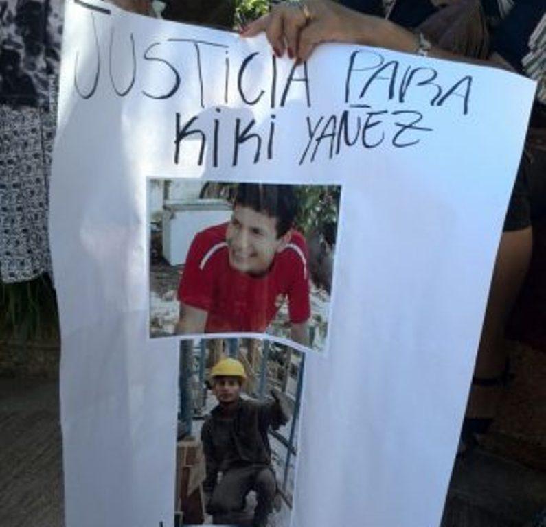 Los familiares de «Kiki» Yañes marcharán el lunes para pedir que el homicida vuelva a la cárcel