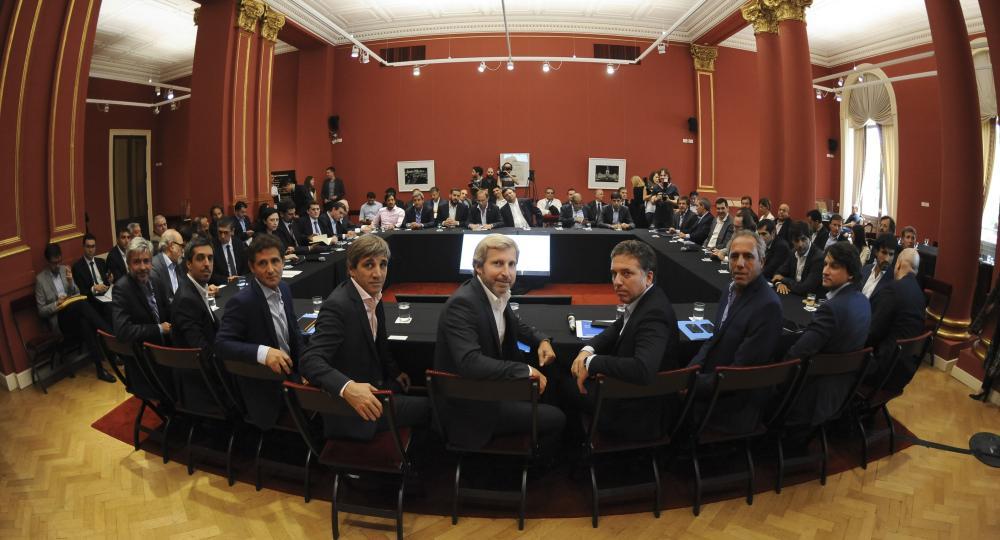 Nación y provincias avanzan en  una nueva Ley de Coparticipación
