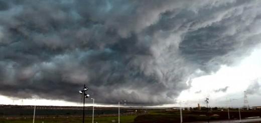 Se emitió un aviso por tormentas fuertes para el viernes