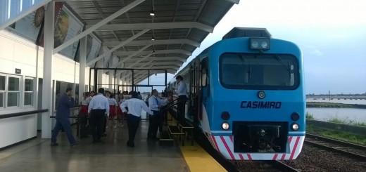 Desde este mediodía no funciona el tren que une Posadas y Encarnación