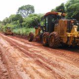Siguen trabajando en en el puente Paranay Guazú y realizan nuevas obras de acceso en la ruta 12
