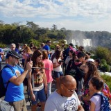 Feriado de Carnaval: Cataratas recibió hoy un total de 11.618 turistas