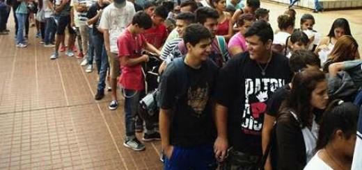 Más y Mejor Trabajo: más de 250 jóvenes se inscribieron en el barrio Villa Urquiza de Posadas