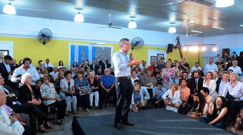 Macri: «quiero que el salario de la gente sea más fuerte»