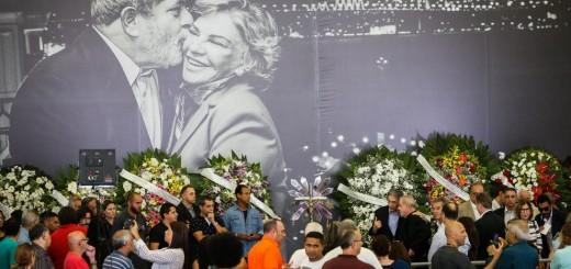 Buena parte de la clase política brasileña asistió al velatorio de la esposa del ex presidente Lula da Silva