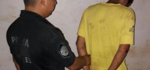 Otro violento preso: amenazó a su mujer y durmió en un calabozo