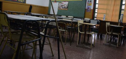Inicio de clases: en Oberá y Eldorado docentes de las escuelas públicas se sumaron al paro por 48 horas